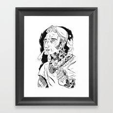 Psychobilly Framed Art Print