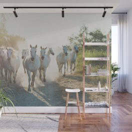 Camargue Horses XIII Wall Mural