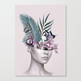 Tropical Girl 3 Canvas Print