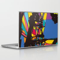 the wire Laptop & iPad Skins featuring wire by PINT GRAPHICS