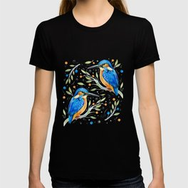 Winter kingfisher T-shirt