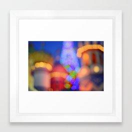 Russian Xmas Framed Art Print