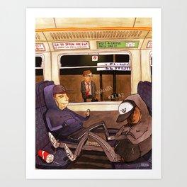 The Last Train Home Art Print