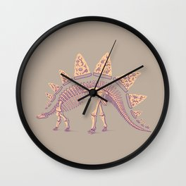 Pizzasaurus Awesome Wall Clock