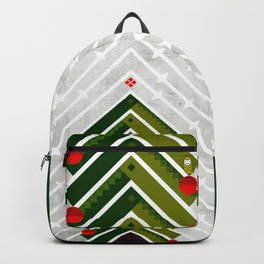 084 - Owly sitting the Christmas rocket tree Backpack