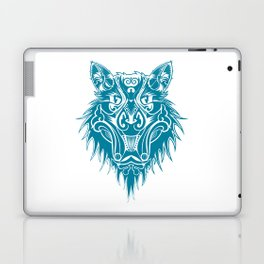 Marcel the cat wolf Laptop & iPad Skin