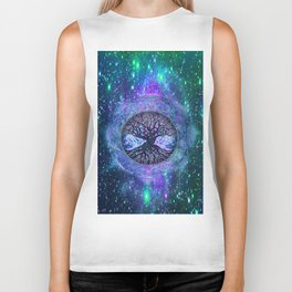 Earth Circle of Light Biker Tank
