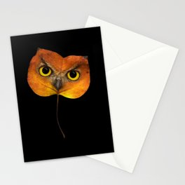 Autumn Owl-2 Stationery Cards