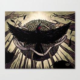 Yatagarasu, the Dark Sun Canvas Print