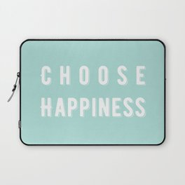 Choose Happiness - Mint Laptop Sleeve