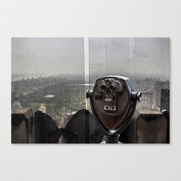 Top of the Rock NYC Canvas Print