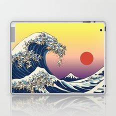 The Great Wave Of  Cat Laptop & iPad Skin