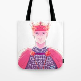 King of Camelot Tote Bag