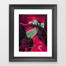 Invisible Monster Framed Art Print