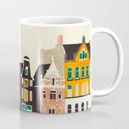 shapes houses of Amsterdam Coffee Mug