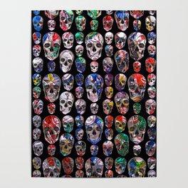 Rubino Skull Trash Poster