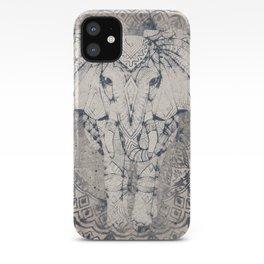 Indian Elephant Mandala iPhone Case