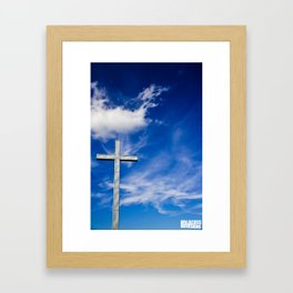 Darling Hill Cross Framed Art Print