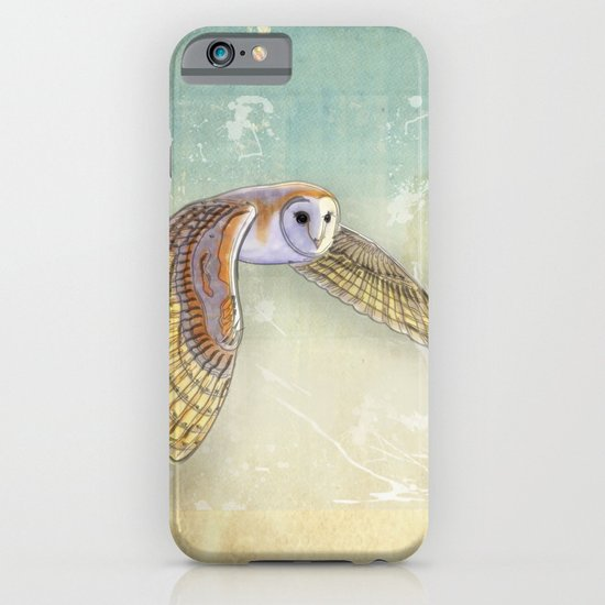 Barn Owl Labyrinth iPhone & iPod Case