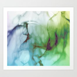 In The Ether. Art Print