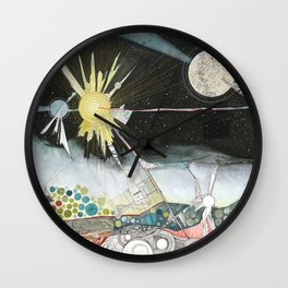 Exploration: The Sun Wall Clock