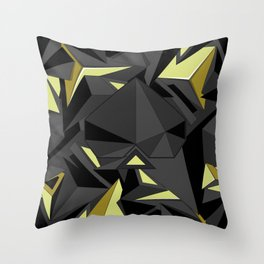 B&Y Throw Pillow