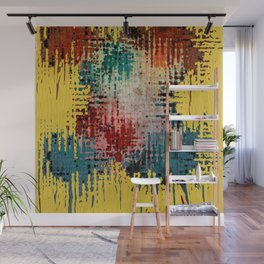 Paint Drips Wall Mural