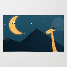 The Giraffe and the Moon Rug