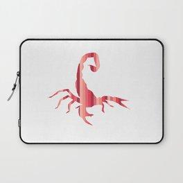 Fiery Striped Scorpion Laptop Sleeve