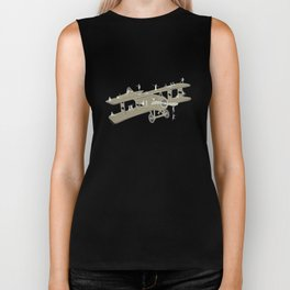 Up in the air Biker Tank