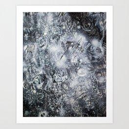 A Galactic Symphony Of Infinite Amorphous Purpose Art Print