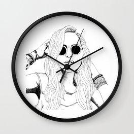 Wild Delilah Super Groupie Wall Clock