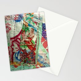Vintage Hawaiian Quilt Scrap Stationery Cards