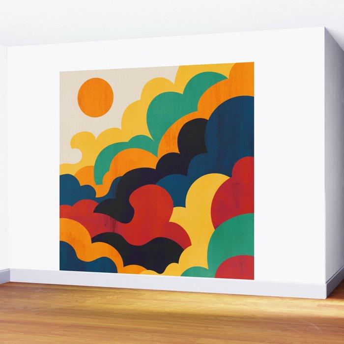 Cloud nine Wall Mural