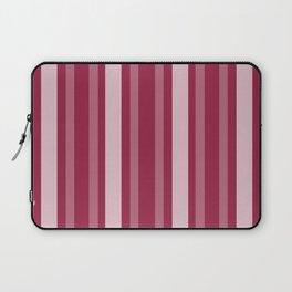 Raspberry Victorian Lady Stripe Laptop Sleeve