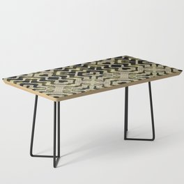 Tribal Gold Glam Coffee Table