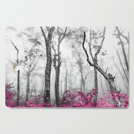 Princess Pink Forest Garden Cutting Board