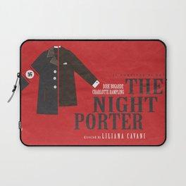 The Night Porter, movie poster, Liliana Cavani, Charlotte Rampling, Dirk Bogarde Laptop Sleeve