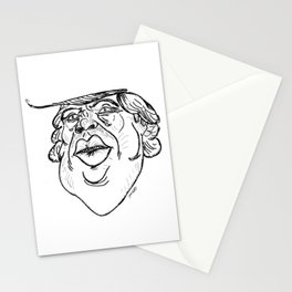The Lizard King (Black & White) Stationery Cards