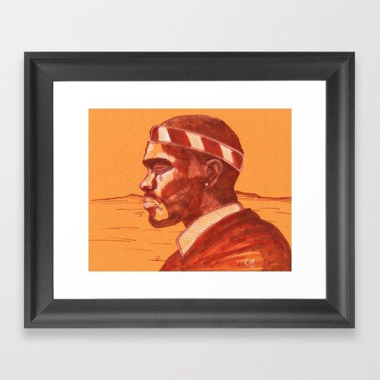 """""""Channel Orange"""" by Cap Blackard Framed Art Print"""