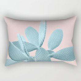 Blush Cactus #1 #plant #decor #art #society6 Rectangular Pillow
