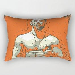 Young man Rectangular Pillow