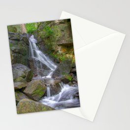 Lumsdale waterfall Stationery Cards
