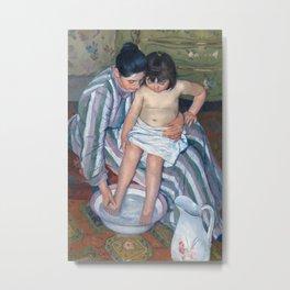 Mary Cassatt - The Child's Bath Metal Print