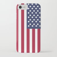 america iPhone & iPod Cases featuring America. by Jake  Williams