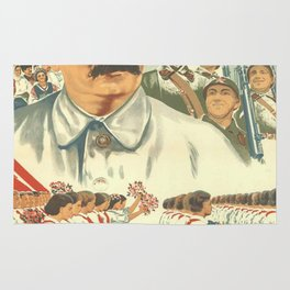 Vintage poster - Josef Stalin Rug