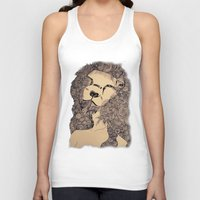 lions Tank Tops featuring Lions by Zora Chen