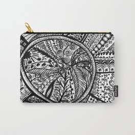 Life growth tree in a pot Carry-All Pouch