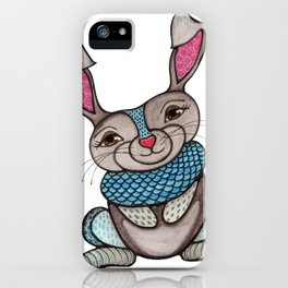 Magical Rabbit iPhone Case