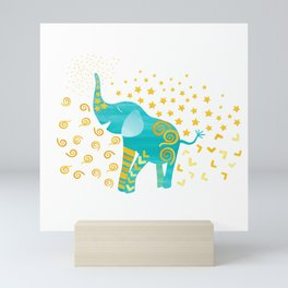 Lucky Elephant – Magic Villa Mini Art Print